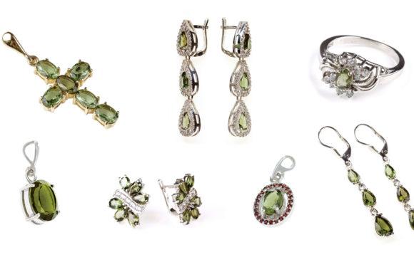 Šperky s vltavíny